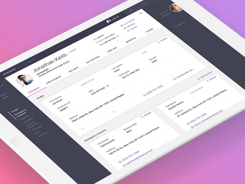 Viventium App Tablet Profile