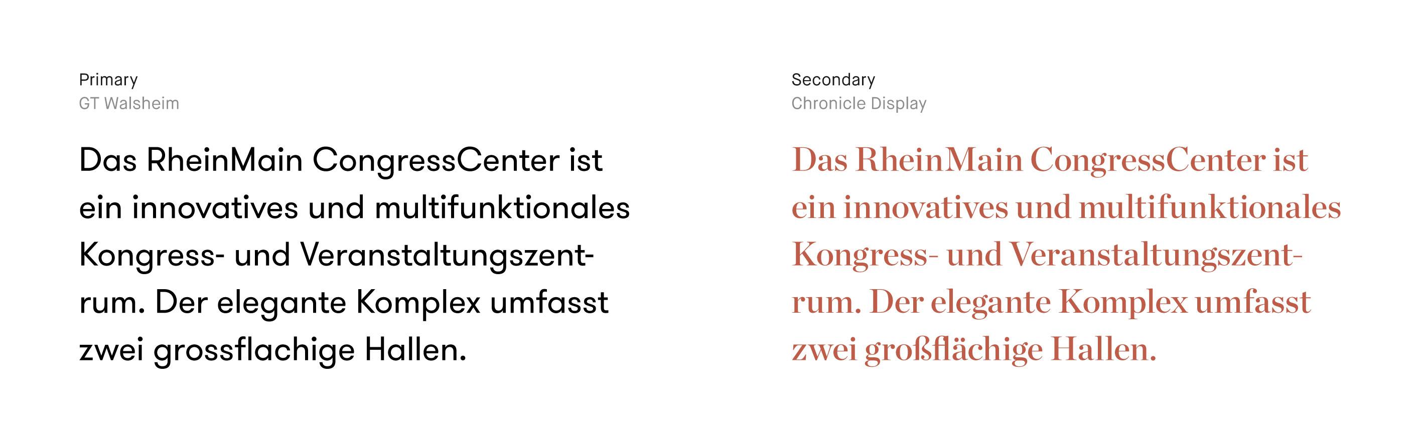 RMCC Typography